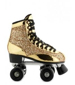 Des rollers pop dorés - Cosmoparis - 120€