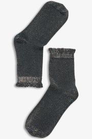 Chaussettes pailletées - Monki