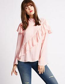 Blouse à volants - Marks and Spencer