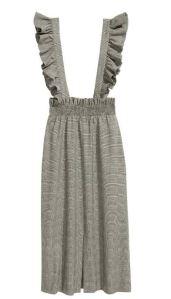 Robe à carreaux avec bretelles - H&M